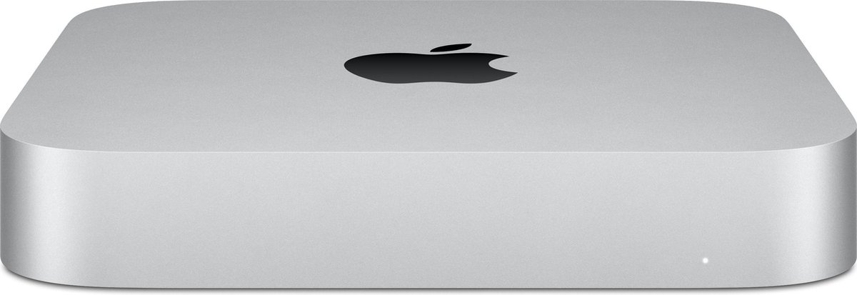Apple Mac Mini (2020) – M1 chip – 8 GB – 256 GB SSD – Mini PC – Zilver