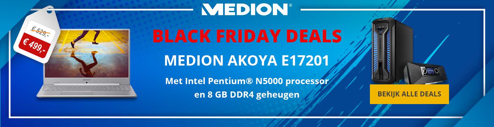 Medion Black Friday deals Medion  Akoya E17201