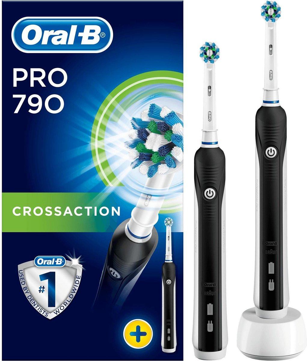 Oral-B Pro 790 CrossAction – Elektrische Tandenborstel – Zwart