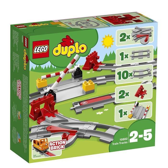 LEGO® DUPLO® Ma ville 10882 Les Rails du Train