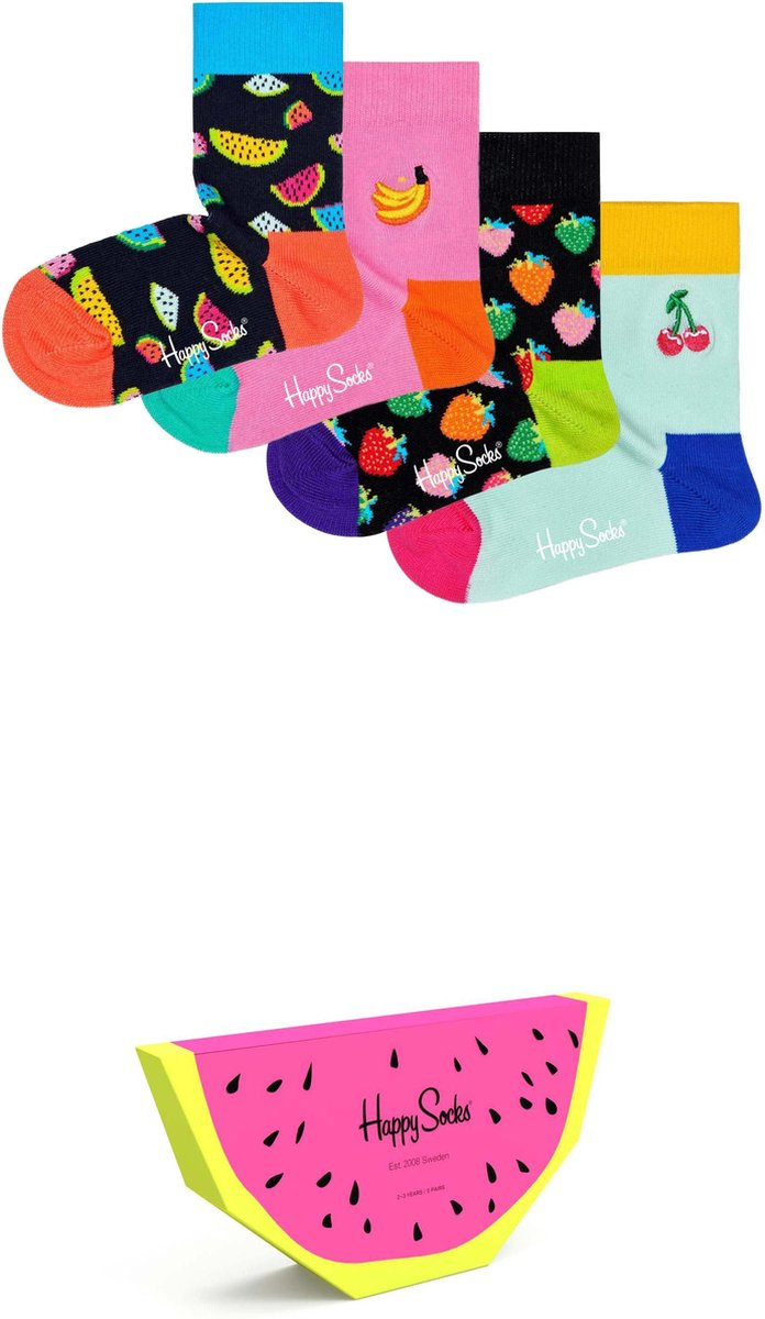 Happy Socks Kids Fruits Giftbox – Maat 12-24M