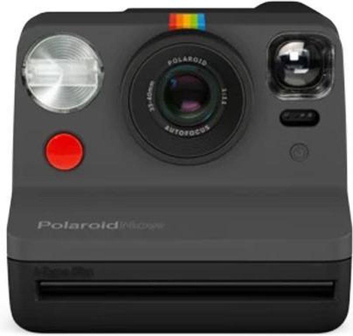 Polaroid Now i-Type Instant Camera – Black