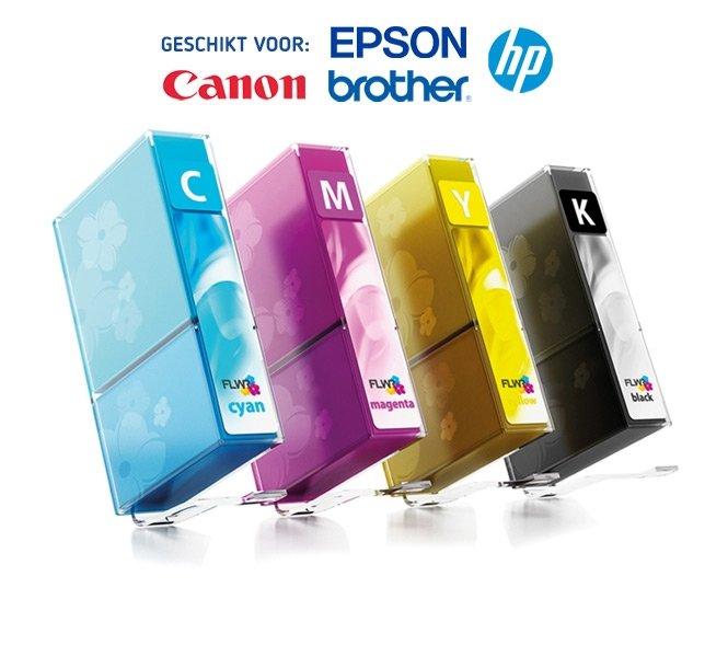 XL en 6-PACK Inktpatronen voor Printers van HP, Brother, Epson & Canon | Zorg altijd voor voldoende inkt in huis
