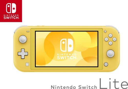 Console portable Nintendo Switch Lite Jaune