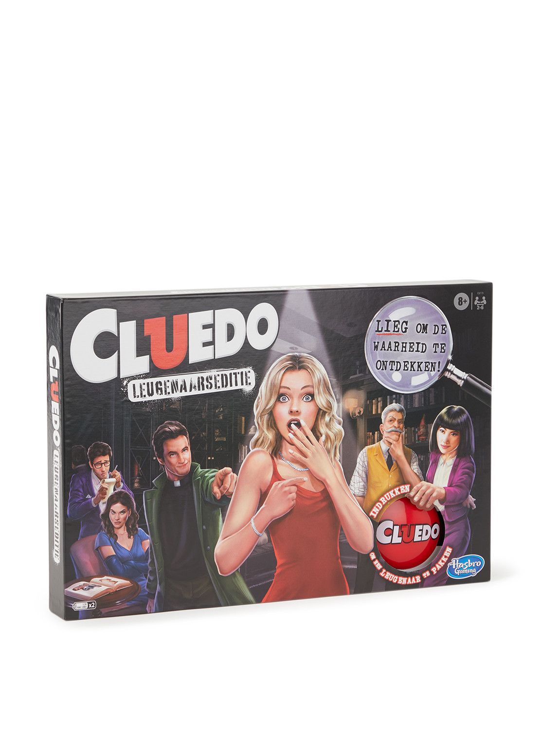 Hasbro CLUEDO leugenaarseditie bordspel