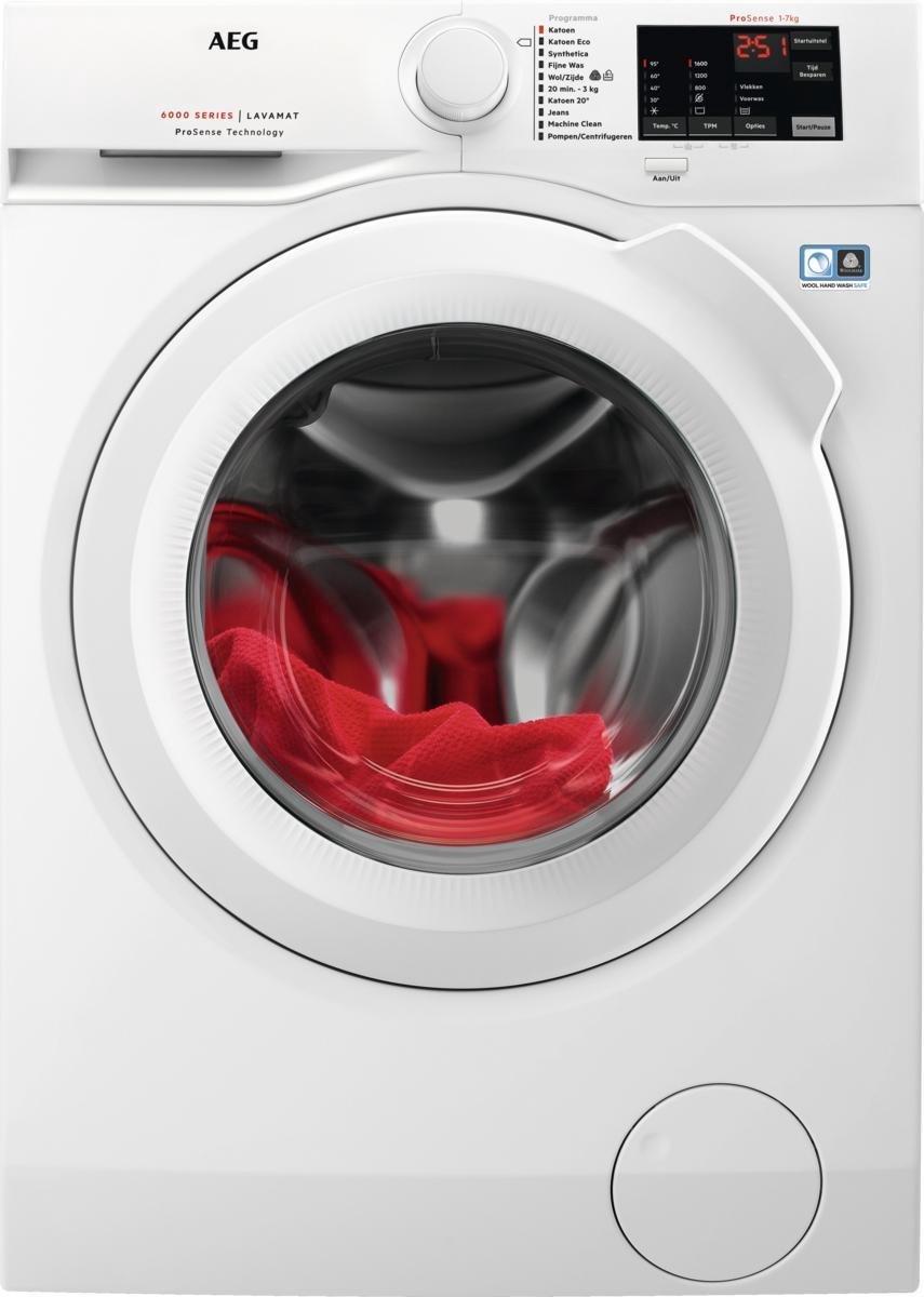 AEG L6FBN5761 – 6000 serie – ProSense – Wasmachine