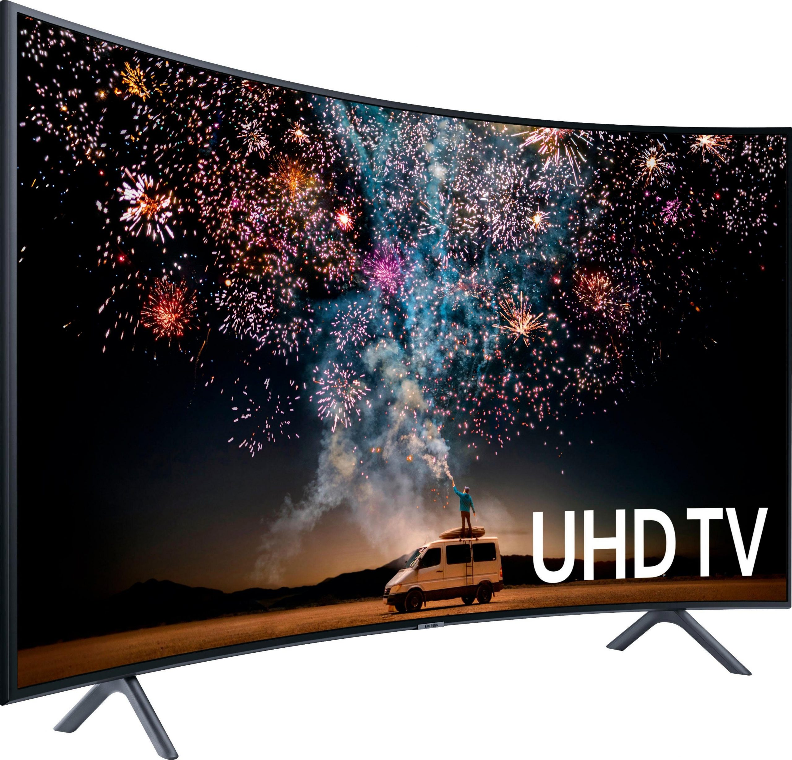 Samsung UE55RU7379 curved led-tv (138 cm / 55 inch), 4K Ultra HD