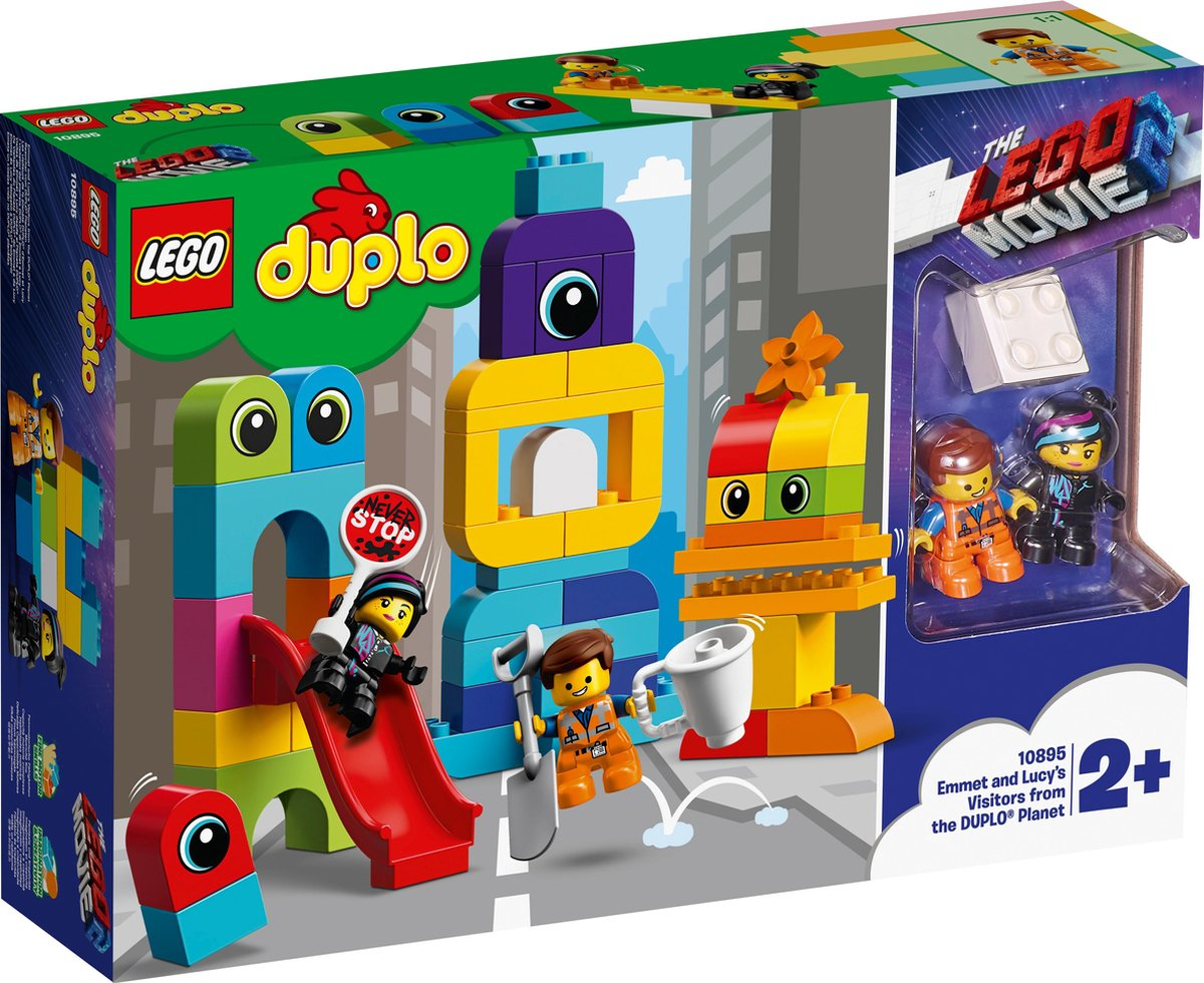 LEGO DUPLO The Movie 2 Visite voor Emmet en Lucy van de DUPLO Planeet – 10895