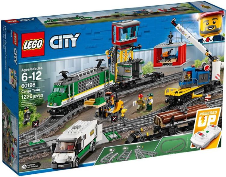LEGO City – Vrachttrein 60198