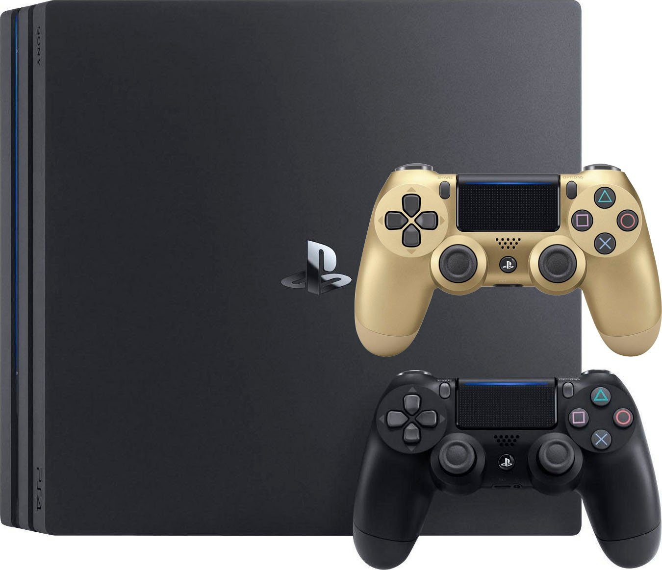 PlayStation 4 Pro console incl. Dualshock Wireless Controller gold