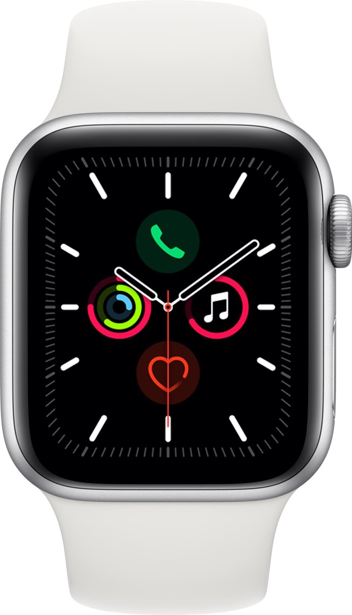 Apple Watch Series 5 – 44 mm – Wit