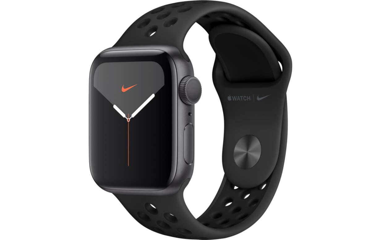 Montre connectée Apple Watch Nike 40MM Alu Anthra / Noir Series 5