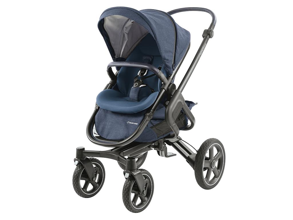 Maxi-Cosi Nova 4-Wheels Kinderwagen – Nomad Blue (Black Frame) – Kinderwagen