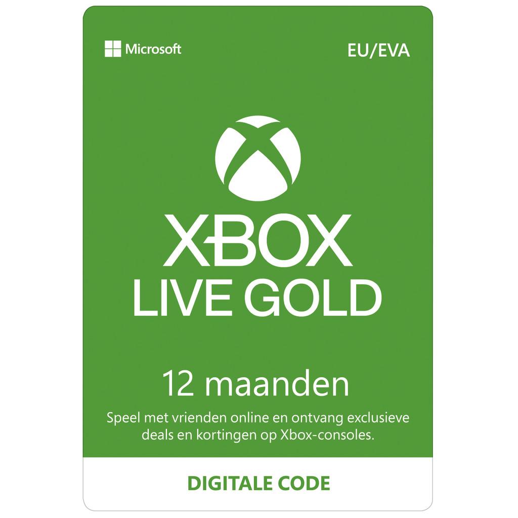 Xbox Live 12 Maanden Gold Membership – Digitale code