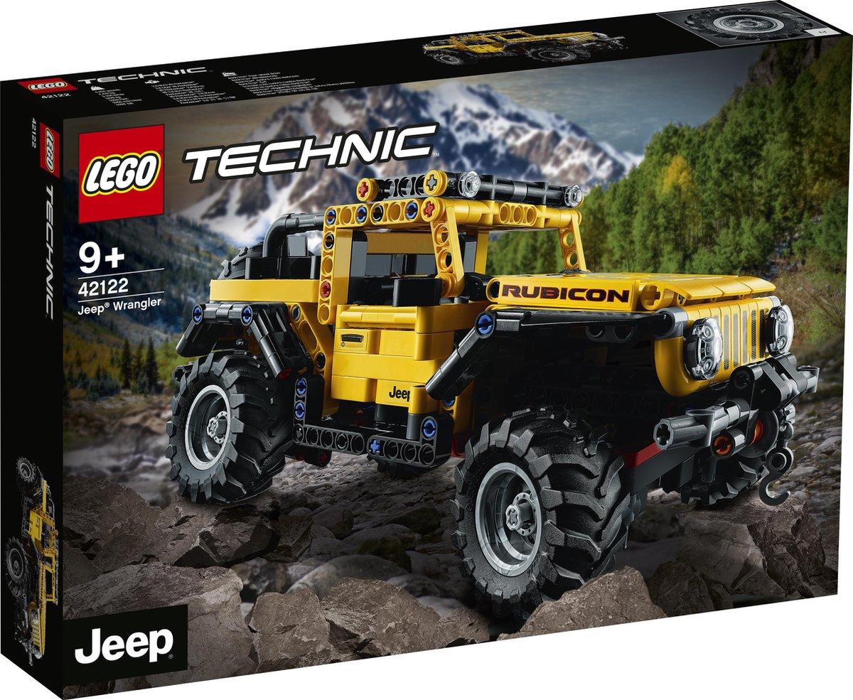 LEGO Technic Jeep Wrangler – 42122