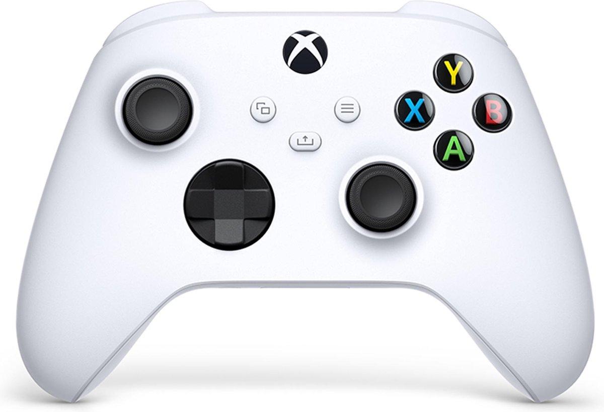 Xbox Draadloze Controller – Robot Wit- Series X & S – Xbox One