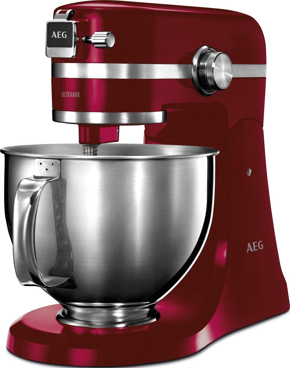 AEG UltraMix KM54WR – keukenmachine – Watermelon Red
