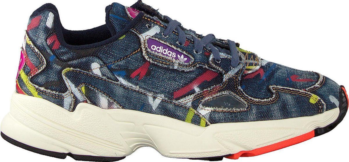 Adidas Dames Lage sneakers Falcon W – Blauw – Maat 36⅔