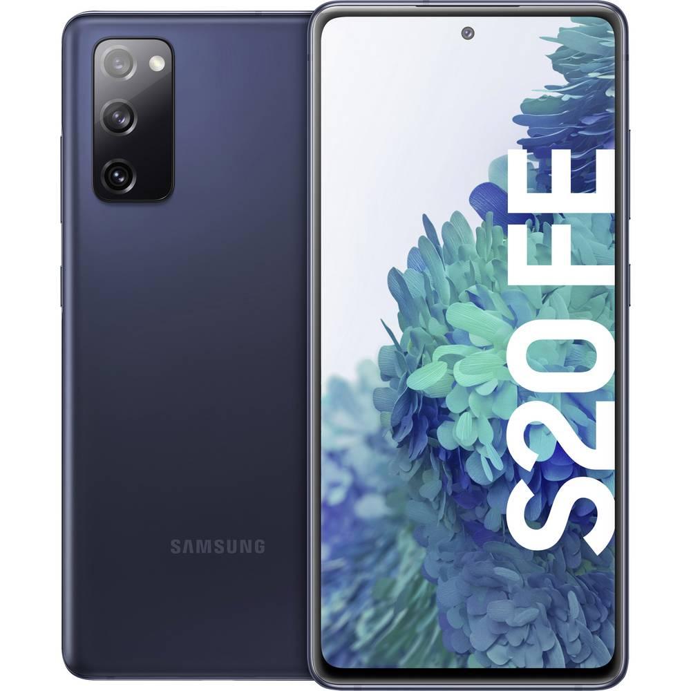 Samsung Galaxy S20 FE LTE Dual-SIM smartphone 128 GB 6.5 inch (16.5 cm) Dual-SIM Android 10 12 Mpix, 12 Mpix, 8 Mpix Blauw