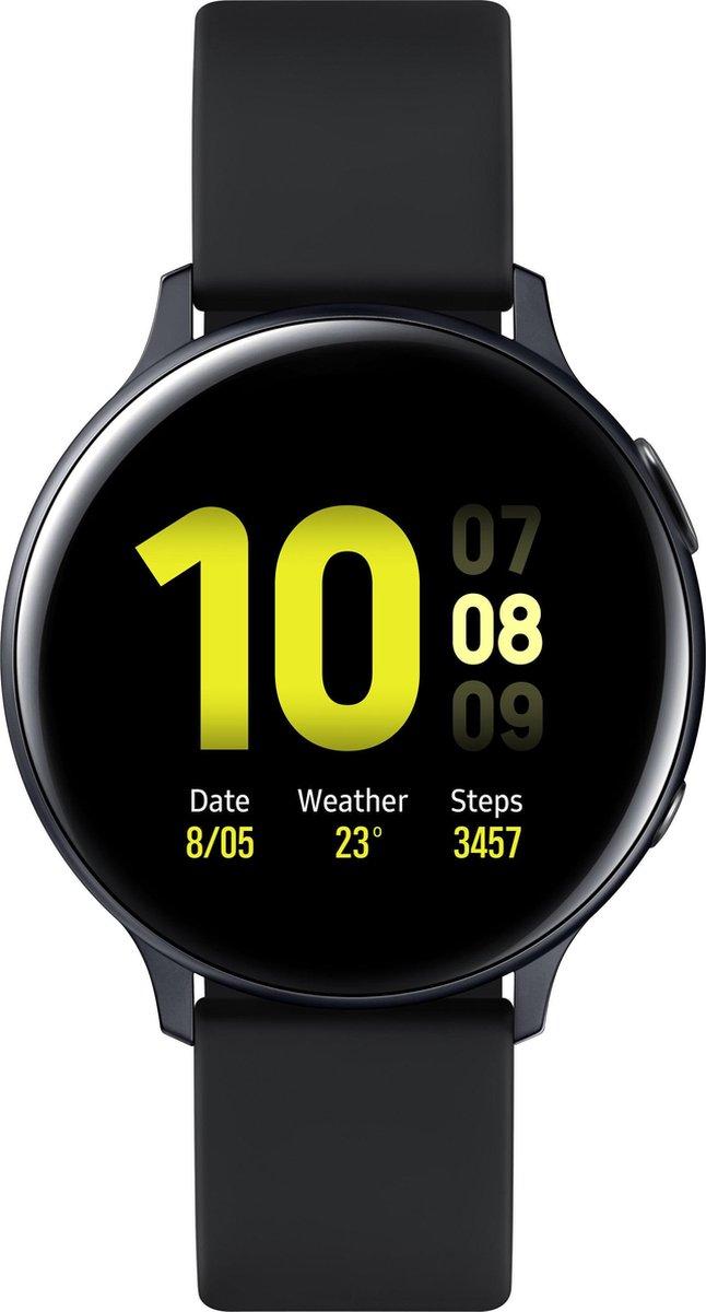Samsung Galaxy Watch Active2 – Aluminium- Smartwatch – 44 mm – Zwart