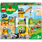 LEGO DUPLO Town: Tower Crane and Construction (10933)