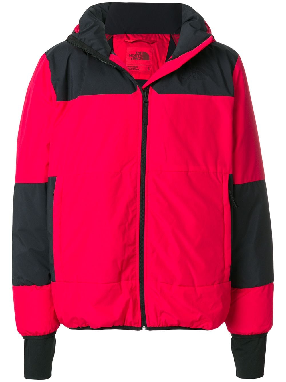 The North Face gevoerd jack – Rood