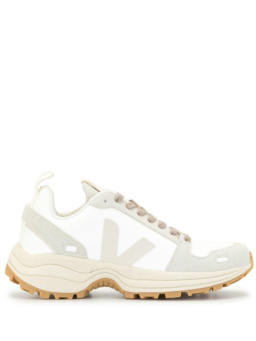 Veja Sneakers met vlakken – Wit