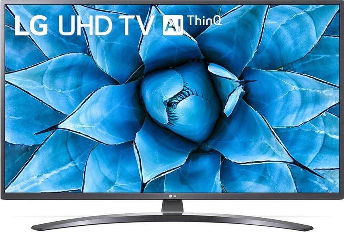 LG 50UN74003LB tv 127 cm (50″) 4K Ultra HD Smart TV Wi-Fi Zilver