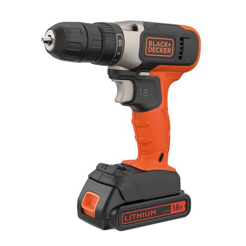 Black+Decker schroefboormachine 18V