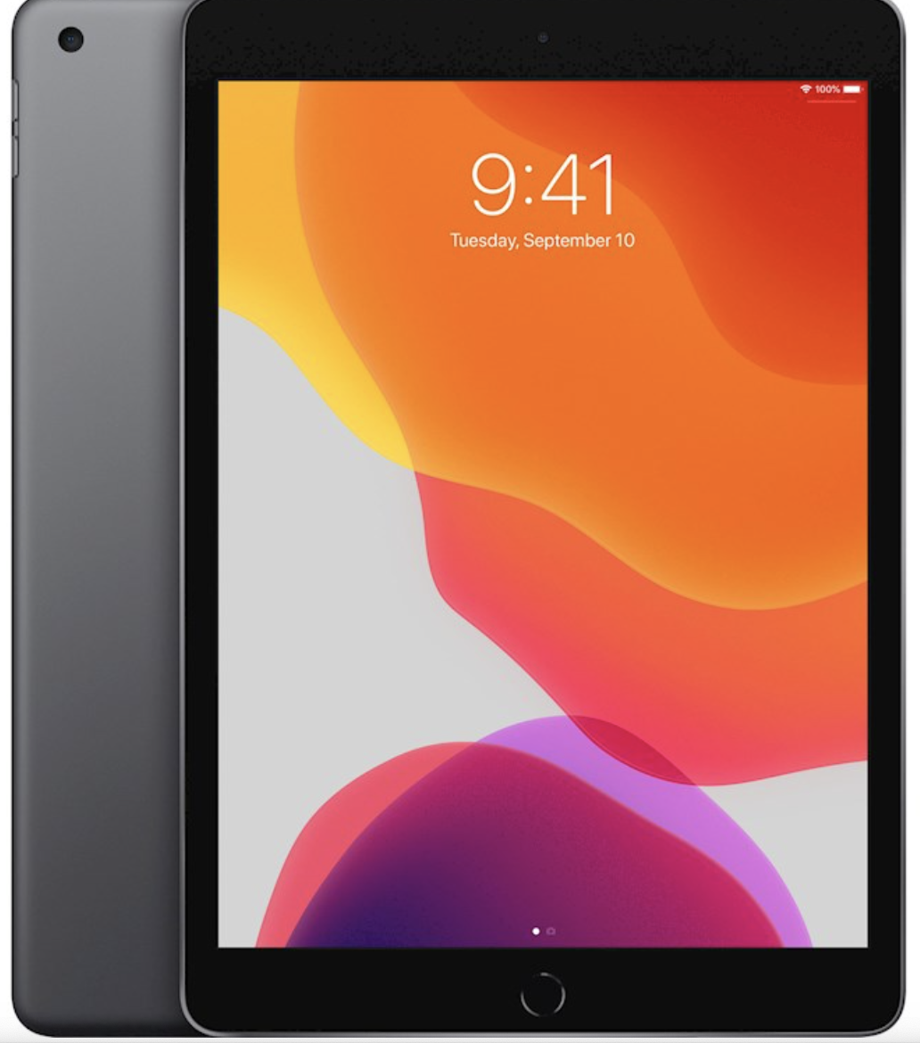 Outlet: Apple iPad (2019) – 32 GB – Wi-Fi – Spacegrijs