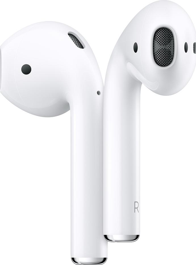 Airpods (2019) – Hoofdtelefoon – inwendig – oordopje – met draadloze oplaadcase – draadloos – bluetooth