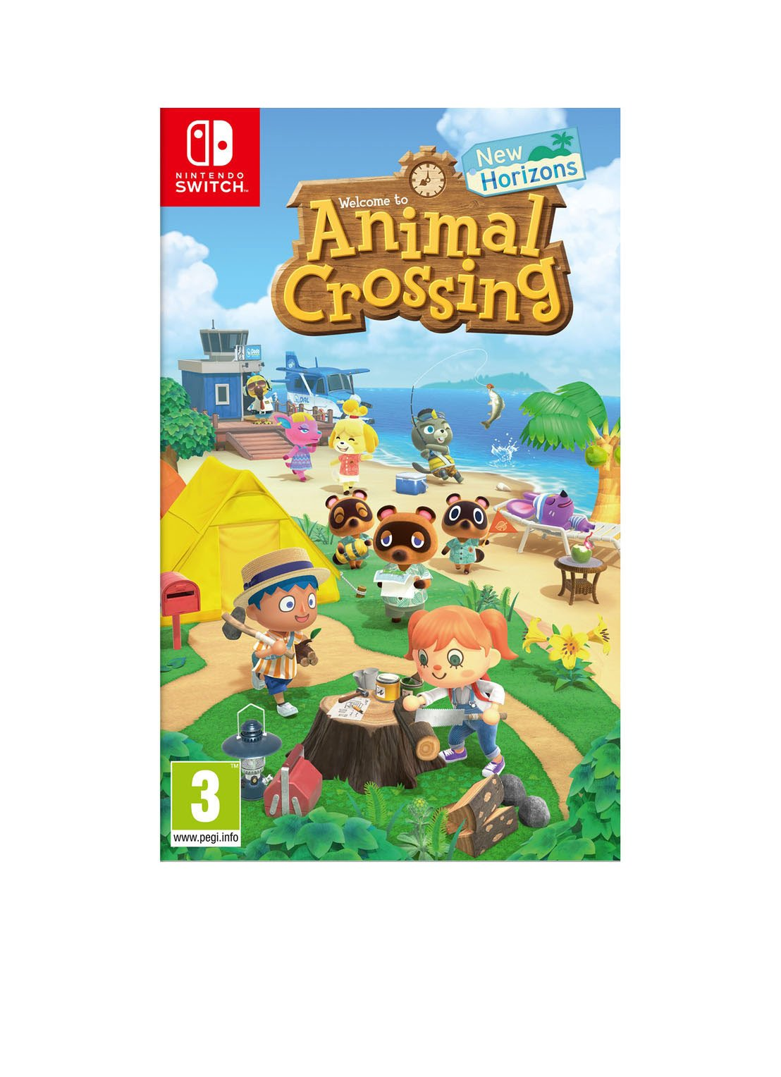Nintendo Animal Crossing New Horizons game – Nintendo Switch