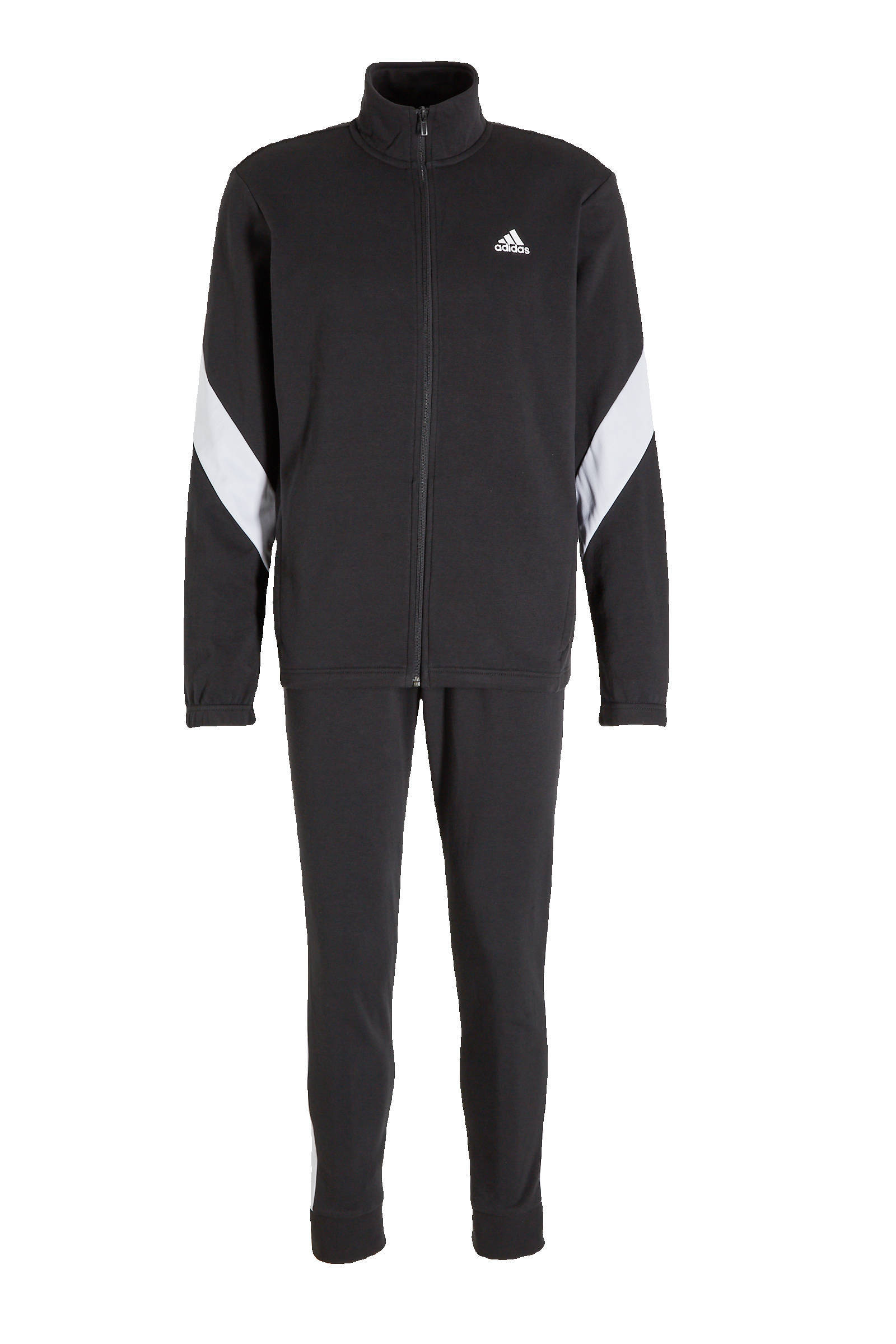adidas performance trainingspak zwart/wit