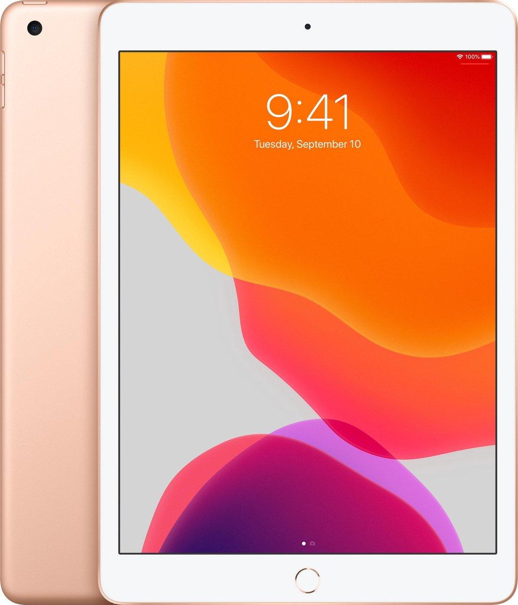 Apple iPad (2019) – 10.2 inch – WiFi – 128GB – Goud
