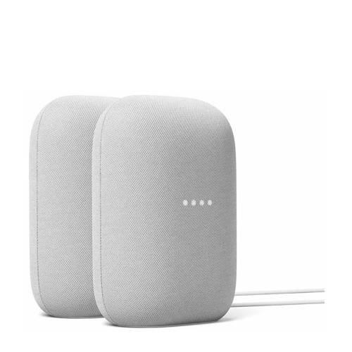 Google Nest Audio 2 pack (licht grijs)