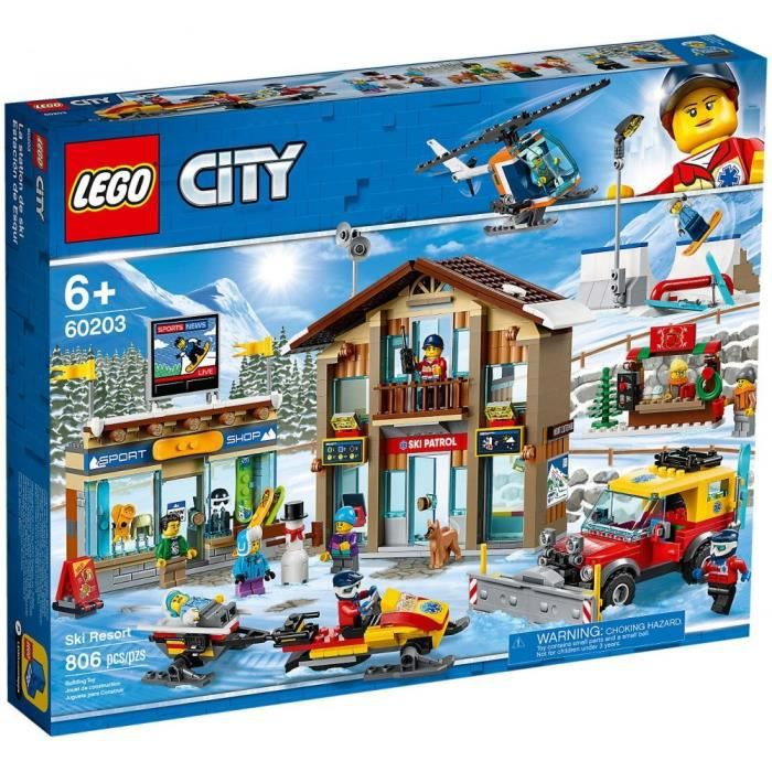 LEGO® City 60203 La station de ski