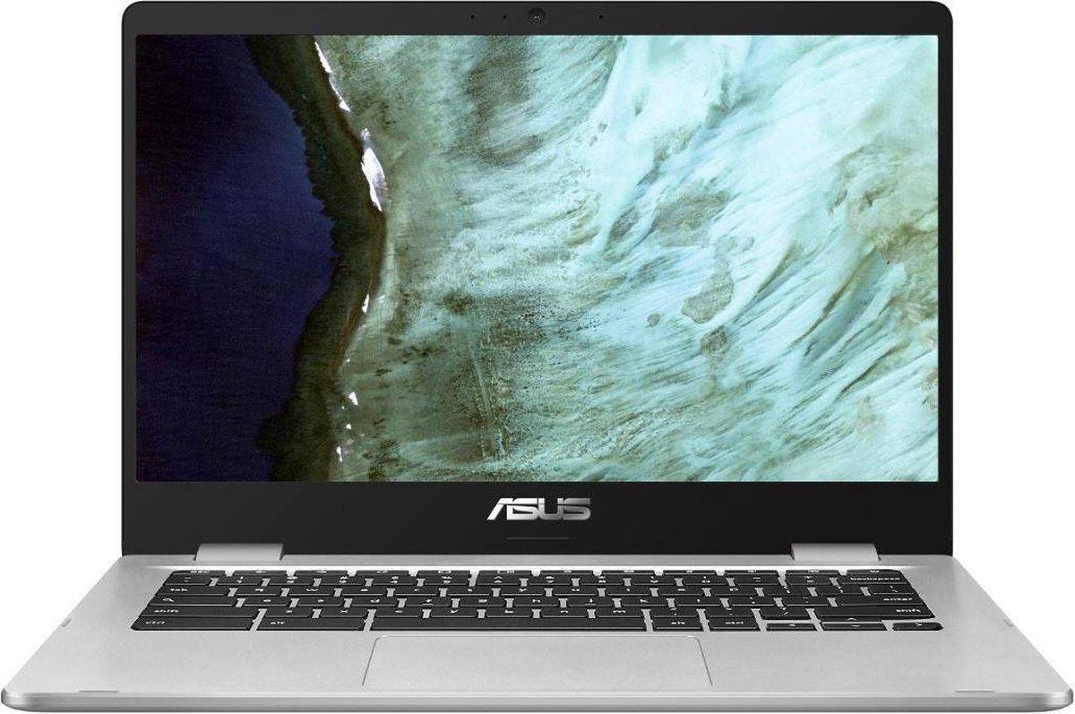 ASUS Chromebook C423NA-EC0301 Zilver 35,6 cm (14″) 1920 x 1080 Pixels Intel® Celeron® 4 GB LPDDR4-SDRAM 64 GB eMMC Wi-Fi 5 (802.11ac) Chrome OS