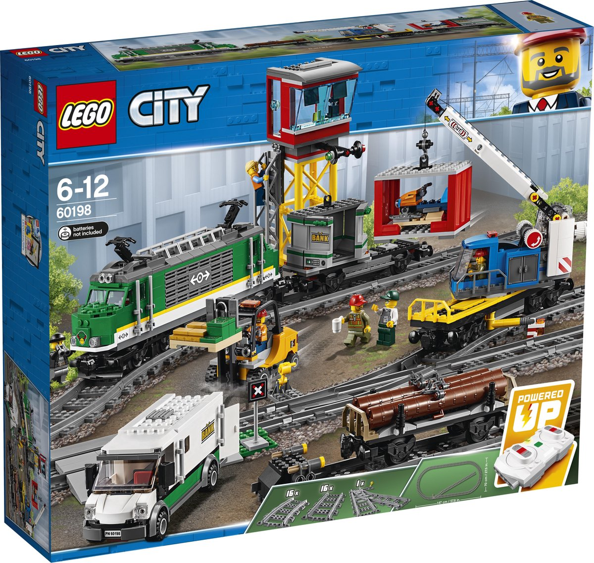 LEGO City Treinen Vrachttrein – 60198