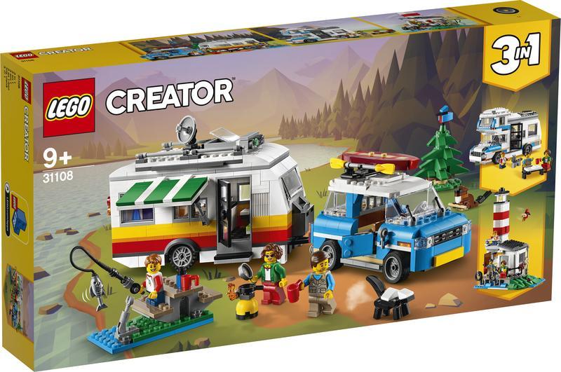 LEGO Creator Familievakantie met caravan (31108)