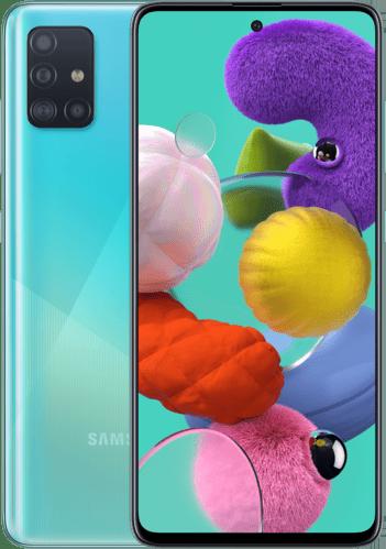 SAMSUNG Galaxy A51 – 128 GB Dual-sim Blauw