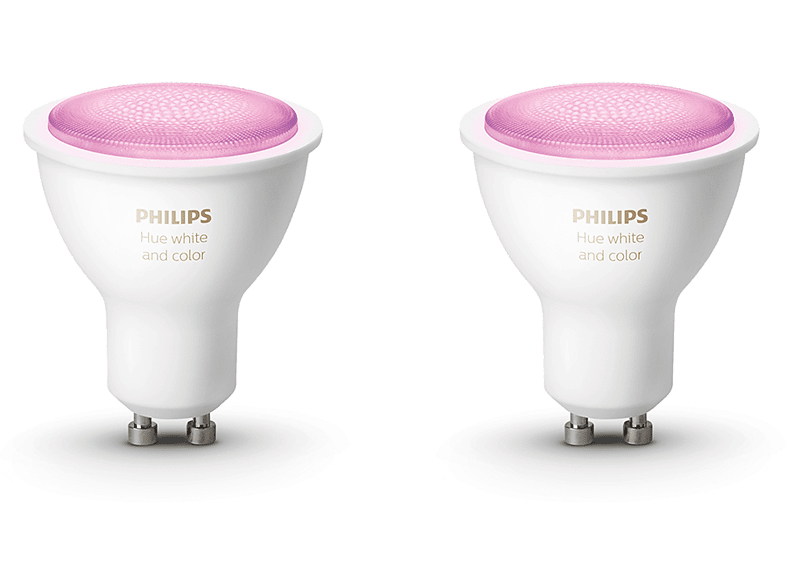 Philips Hue White and Color GU10 Bluetooth Duo Pack