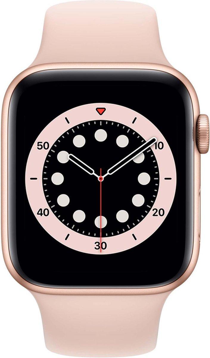 Apple Watch Series 6 – Smartwatch dames – 44 mm – Goudkleurig