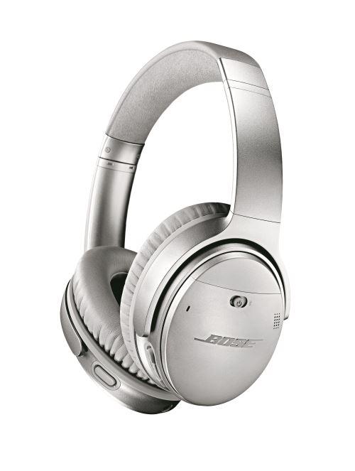 Bose QuietComfort 35 II Draadloos Hoofdtelefoon Zilver + Google Assistant
