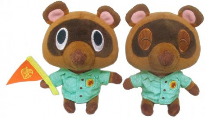 Animal Crossing New Horizons Pluche – Timmy & Tommy 2-Pack