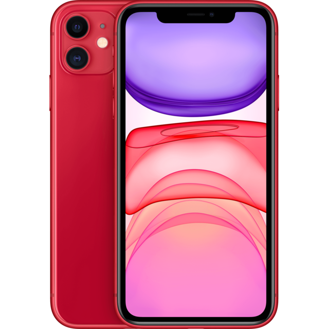 APPLE iPhone 11 – 64 Go – MWLV2ZD/A – PRODUCT RED