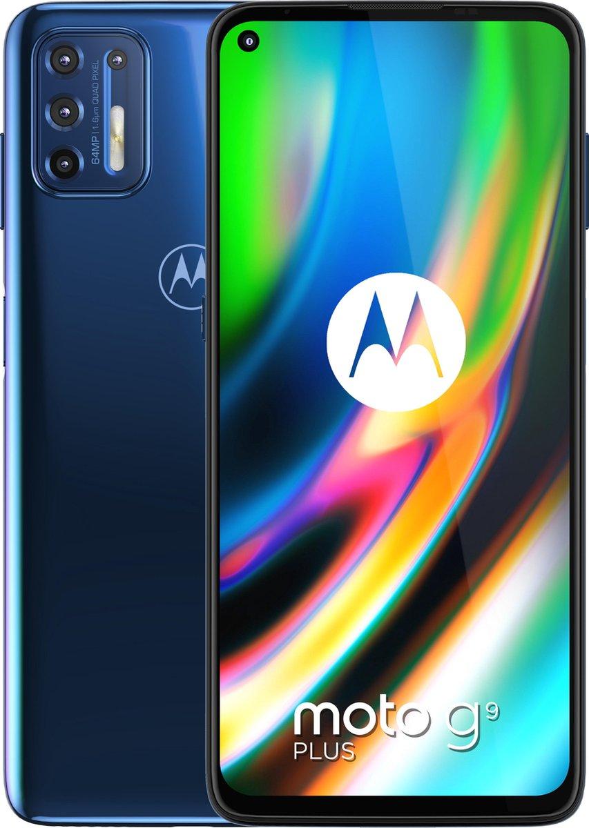 Motorola Moto G9 Plus – 128GB – Deep dive blauw