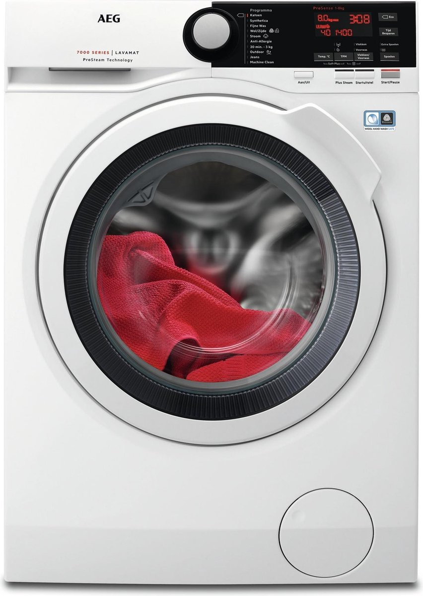AEG L7FB84EW – 7000 Serie – ProSteam – Wasmachine