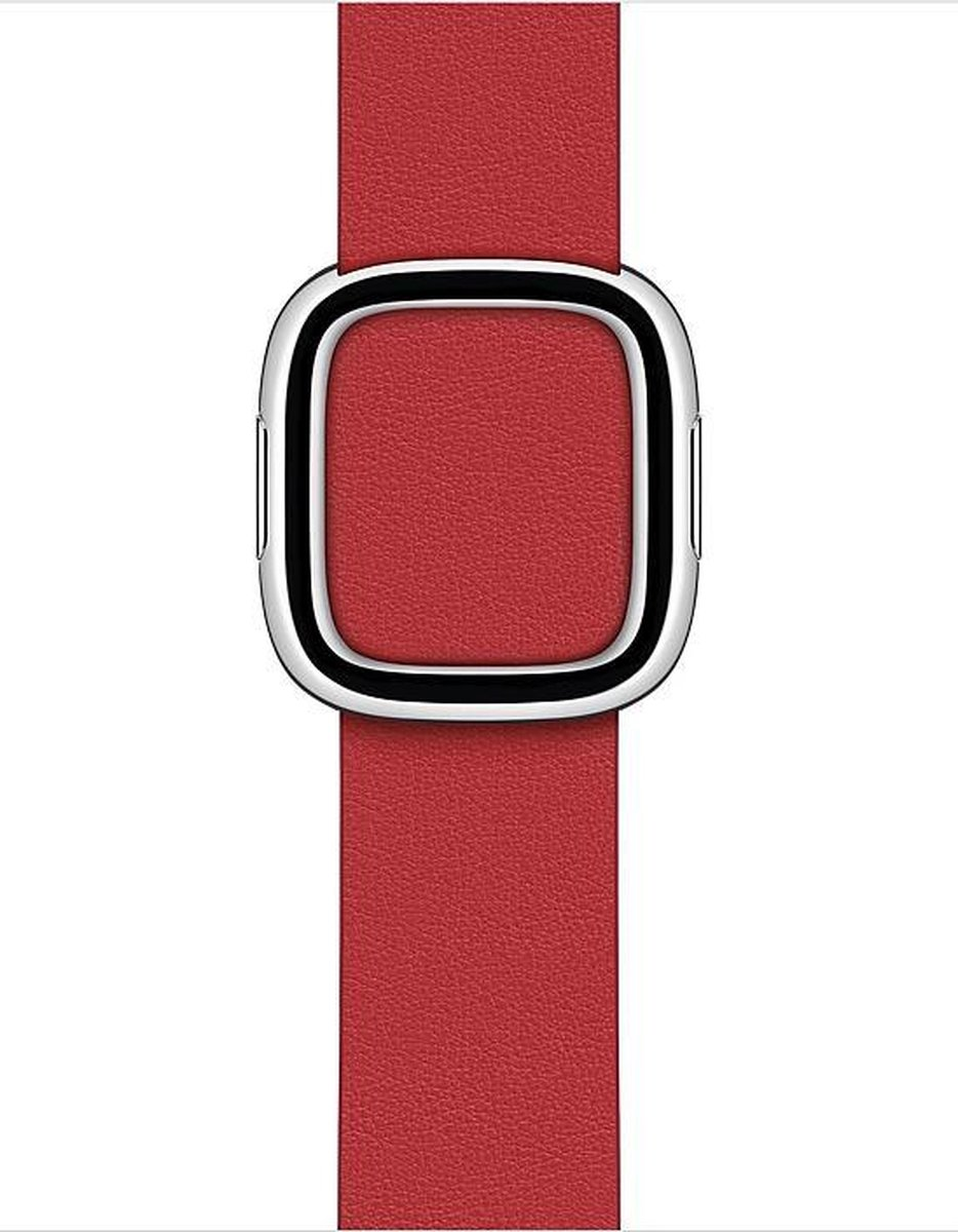 Apple Watch Modern Buckle – 40mm – Scarlet – Medium – voor Apple Watch SE/5/6
