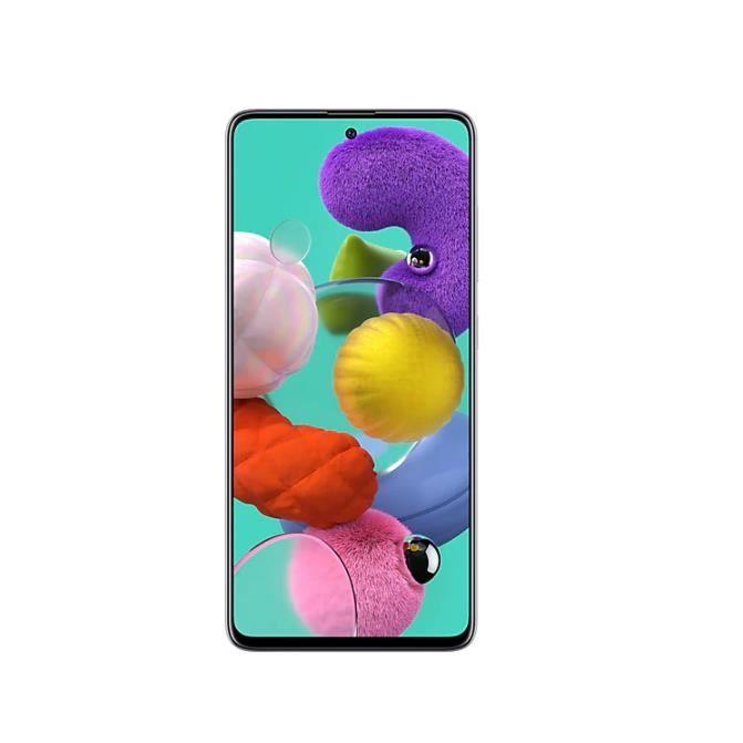 Samsung Galaxy A51 6GO RAM 128GO -Blanc Prisme
