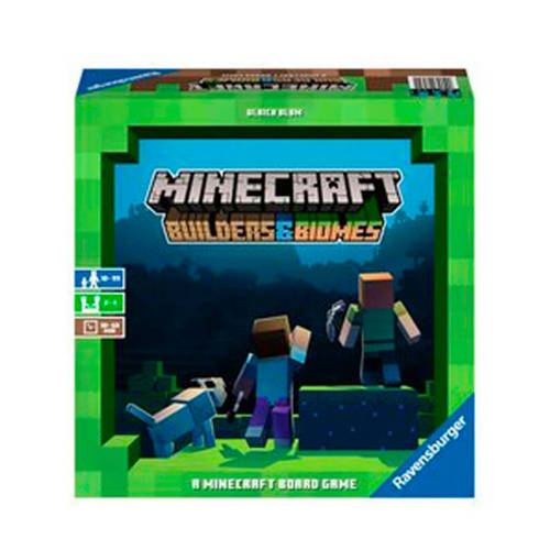 Ravensburger Minecraft Builders & Biomes bordspel bordspel